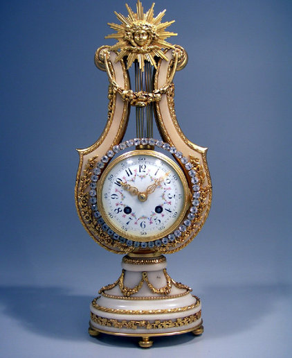 traditional clocks French Antique Mantel Clock