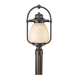 "Murray Feiss - Murray Feiss OLPL7408 Mc Coy 20.5"" High 1 Light Fluorescent Outdoor Post Lantern - The Mc Coy Collection of outdoor lights offer a simple and comfortable style combined with superior materials and craftsmanship that will provide safety and illumination for many years.Features:"