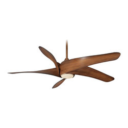 "Minka Aire - Minka Aire F905-DK Artemis XL5 Distressed Koa 62"" Ceiling Fan + Remote Control - Features:"