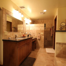 Traditional Bathroom by Cook Remodeling & Custom Construction