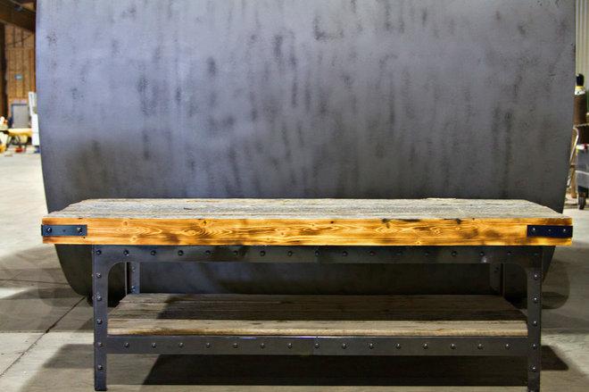 Industrial Coffee Tables by Basin Custom