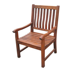 Teak Chair - These chairs will last you a life-time, beautiful collection - table sold separately. Vintage Dining slat wood chair