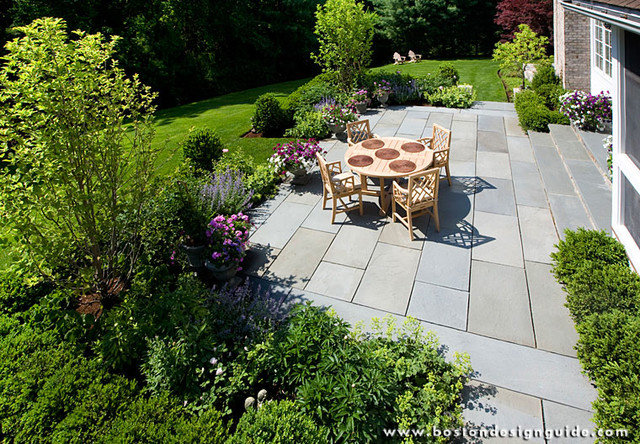Traditional Landscape by Boston Design Guide