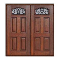 """Prehung Double Door 80 Fiberglass Verona Camber Lite GBG Glass - SKU#MCT122WVE_DFFAVEG2BrandGlassCraftDoor TypeExteriorManufacturer CollectionCamber Lite Entry DoorsDoor ModelVeronaDoor MaterialFiberglassWoodgrainVeneerPrice2590Door Size Options2(32"""")[5'-4""""]  $02(36"""")[6'-0""""]  $0Core TypeDoor StyleDoor Lite StyleCamber LiteDoor Panel Style4 PanelHome Style MatchingDoor ConstructionPrehanging OptionsPrehungPrehung ConfigurationDouble DoorDoor Thickness (Inches)1.75Glass Thickness (Inches)Glass TypeDouble GlazedGlass CamingGlass FeaturesTempered glassGlass StyleGlass TextureGlass ObscurityDoor FeaturesDoor ApprovalsEnergy Star , TCEQ , Wind-load Rated , AMD , NFRC-IG , IRC , NFRC-Safety GlassDoor FinishesDoor AccessoriesWeight (lbs)603Crating Size25"""" (w)x 108"""" (l)x 52"""" (h)Lead TimeSlab Doors: 7 Business DaysPrehung:14 Business DaysPrefinished, PreHung:21 Business DaysWarrantyFive (5) years limited warranty for the Fiberglass FinishThree (3) years limited warranty for MasterGrain Door Panel"""
