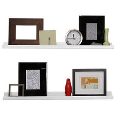 Contemporary Wall Shelves by SmartFurniture