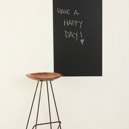 Chalkboard Wall Decal - Keeping track of your to-do list will be much easier thanks to this chalkboard wall decal.