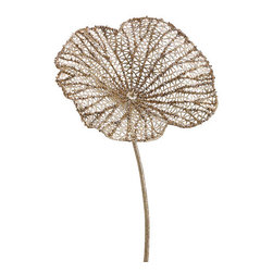 Silk Plants Direct - Silk Plants Direct Glitter Lotus Leaf (Pack of 12) - Gold - Pack of 12. Silk Plants Direct specializes in manufacturing, design and supply of the most life-like, premium quality artificial plants, trees, flowers, arrangements, topiaries and containers for home, office and commercial use. Our Glitter Lotus Leaf includes the following: