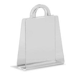 modern magazine rack purse modern magazine rack purse is made of eco friendly acrylic material. Black Bedroom Furniture Sets. Home Design Ideas