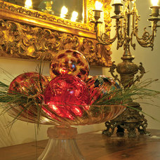 Contemporary Holiday Decorations by MDINA GLASS