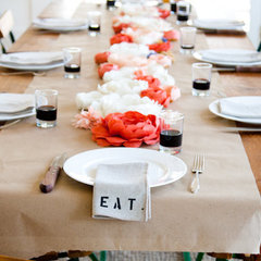 eclectic table linens by emersonmade.com