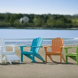 Seaside Casual Coastline Harbor View Adirondack Chair - Seaside Casual Furniture has been providing outdoor products to Southern New England for nearly 100 years. We are confident that you are viewing the finest ready to assemble outdoor furniture products available.