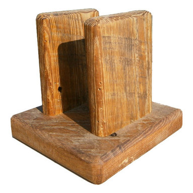 The Rusted Nail LLC - Napkin Holder - Add a rustic touch to your kitchen, picnic table or breakfast nook. This handsome napkin holder is made from reclaimed barn wood and sealed with danish oil to last. Make it a functional family heirloom for future generations to enjoy.