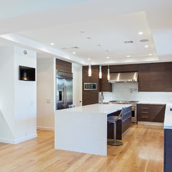 Modern kitchen in Beverly Hills - Katya Grozovskaya