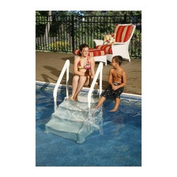 Ocean Blue Simple Step 24 in. Step for Above Ground Pools - The economical yet rugged Ocean Blue Simple Step 24 in. Step for Above Ground Pools provides dual handles and 25-inch step width for safe entry and exit from your above-ground pol.About SplashNet XpressSplashNet Xpress is dedicated to providing consumers with safe, high-quality pool products delivered in a fast and friendly manner. While it's adding new product lines all the time, SplashNet Xpress already handles pool maintenance items, toys and games, cleaning and maintenance devices, solar products, and aboveground pools.