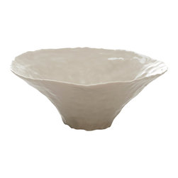 Isabel Halley - Medium Pinched Bowl - Each bowl is made by pinching the clay from the center all the way to the rim. All of our bowls are hand pinched as far as the porcelain will allow.