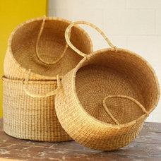 Modern Baskets by Haus Interior