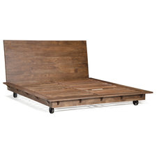 Rustic Beds by Zuo Modern Contemporary