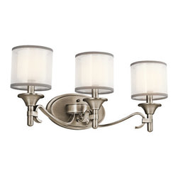 "Kichler - Kichler 45283AP Lacey 22"" Wide 3-Bulb Bathroom Lighting Fixture - Product Features:"