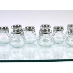 Global Amici Carina Spice Jars - Set of 12 - About Global Amici Inc.Global Amici was established in 1982 on the sole principle of providing outstanding houseware products to its customers at a reasonable price. Each product focuses on design, functionality, and beauty. No matter what the occasion, Global Amici offers products that showcase style that can help transform ordinary food and everyday dining into a special presentation, not to be forgotten.