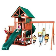 contemporary outdoor playsets by Home Depot