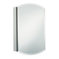 """KOHLER - KOHLER K-3073-NA Archer Mirrored Cabinet - KOHLER K-3073-NA Archer Mirrored CabinetEnhances KOHLER's Archer suite offering by providing an additional storage option to create a complete grooming space.KOHLER K-3073-NA Archer Mirrored Cabinet, Features:• 20"""" W x 31"""" H x 5"""" D"""