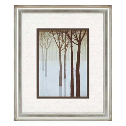 Paragon - Winter's Silhouette II - Framed Art - Each product is custom made upon order so there might be small variations from the picture displayed. No two pieces are exactly alike.