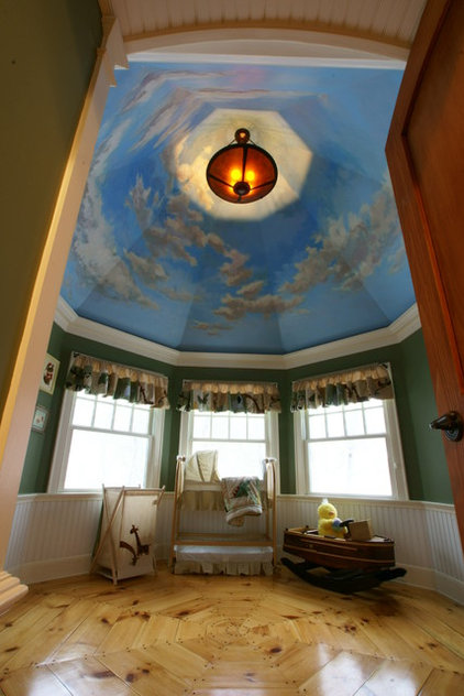 Traditional Nursery by Cummings Architects