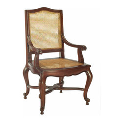 Selamat Designs - Selamat Designs Mahogany Grand Arm Chair - Mahogany Grand Arm ChairClassic design never goes out of style. This traditional Mahogany Grand Arm Chair from Selamat Designs is a piece that is built to last generations. Crafted from solid plantation-grown mahogany with cane accents, this chair is as eco-friendly as it is beautiful. The base of the chair features cabriole legs and arched curves for a touch of elegance. Classic is coming home!Made in IndonesiaCertified green by the Sustainable Furnishings Council