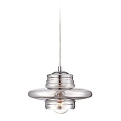Fuma Smoked Glass Modern Possini Euro Pendant Light -