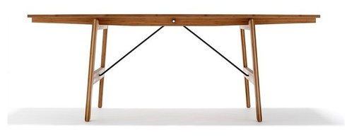 We Do Wood - We Do Wood Table No.1 Large - A genuine table made of bamboo with a knock-down function. Like the Dining Chair no. 1 its quality includes both elegance, durability and functional design.
