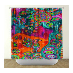 Eclectic Shower Curtains on Houzz