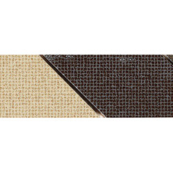 """Nouveau Luminary Gold/Artisan Brown Decorative Accent - Nouveau is a ColorBody™ Porcelain with a very contemporary design that is defined by its """"Pin Dot"""" visual and textured surface. This product achieves a highly-styled visual by combining this modern look in both an unpolished & a light polished finish with square edges."""