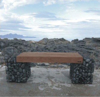 Contemporary Outdoor Benches by Yard Art