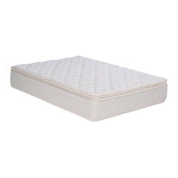 Wolf Mattress - Wolf Sleep Accents Illusion Plush Pillowtop Full-size Mattress and Foundation Se - Rest comfortably with this plush full-size mattress set from Wolf. A luxurious foam support offers the maximum comfort to this full-size mattress.