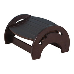 """KidKraft - Kidkraft Baby Feeding Adjustable Foot Stool Nursing Espresso - Our KidKraft nursing stool is adjustable to three positions so that mom can always get comfortable. With its classic and easy-to-use design, this nursing stool makes a great baby shower gift for the mom who has everything. Dimension: 14.25""""Lx 12""""Wx 9""""H"""