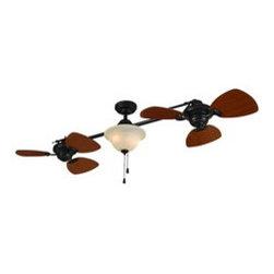 Harbor Breeze Eastview Aged Bronze Ceiling Fan Lighting: Find Lamps ...