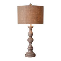 Kenroy Home - Kenroy Home 32236 Bennett 1 Light Table Lamp - Features: