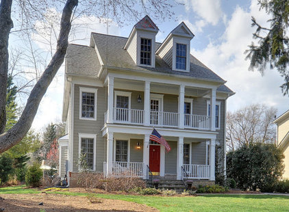 Green house with red trim joy studio design gallery best design - White house green trim ...