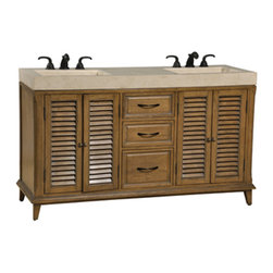 "Ambella Home Collection - Ambella Home Collection - Hampton Road 60"" Double Sink Chest -... - �For any questions please call 800-970-5889.Ambella Home Collection - Hampton Road 60"" Double Sink Chest - 02237-110-500  Features:Hampton Collection�Sink ChestSome Assembly Required��  Dimensions:�W60"" x D20"" x H36"""