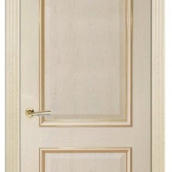 Versal Ivory White Oak Classic Interior Door - Versal is truly a luxury door, that comes with a decorative baguette as an option. This door creates a grand enterance to any room. It is available in dark or white oak. Please note, this is a pre-order door. Minimum quantity is 5 doors per order. Delivery time is within 4 weeks.