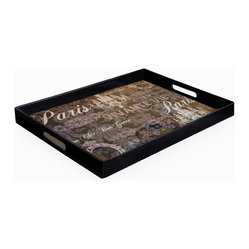 Notions Paris Rectangular Tray