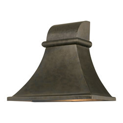World Imports - World Imports 61318-06 Dark Sky Revere Flemish Outdoor Wall Sconce - World Imports 61318-06 Dark Sky 1-Light Outdoor Wall Light in Flemish