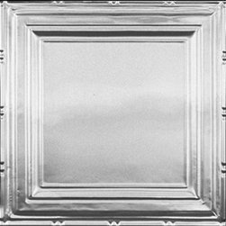 """Decorative Ceiling Tiles - Union Square - Aluminum Ceiling Tile - 24""""x24"""" - #2429 - Find copper, tin, aluminum and more styles of real metal ceiling tiles at affordable prices . We carry a huge selection and are always adding new style to our inventory."""