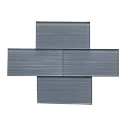 "Bamboo Color Glossy Glass Tile 3""x6"" - Bamboo Color. Glossy Glass Tile 3""x6"". Price is per square foot."