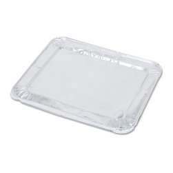 HANDI-FOIL - ALUM STEAM TBL LID F/1/2SZ 100 - Ridged aluminum foil pans are ideal for cooking, transporting, freezing, reheating and serving food. HFA 201970 and HFA 32140 contain 100% recycled content and meet EPA comprehensive procurement guidelines.. . . . Half Size. 1213/16 x 107/16 HFA 32035  HFA 32140 100. . . Steam Table Foil Lids. Dimensions: Height: 0.7, Length: 1.1, Width: 0.9. Country of Origin: US   CAT: Foodservice Food Containers & Lids Miscellaneous
