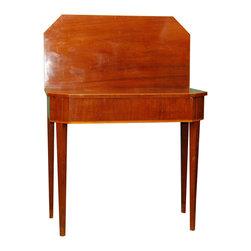 Swedish Mahogany Card Table with Boxwood Inlay - The HighBoy, Joseph Joseph & Joseph Antiques