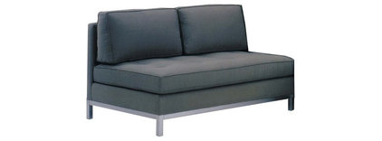 Lazar Series W Collection - Armless Loveseat - MM125054