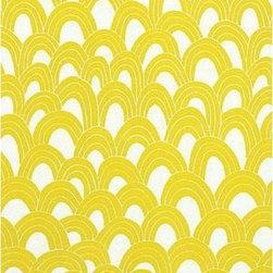 Schumacher - Arches Fabric, Bamboo - 2 Yard Minimum Order