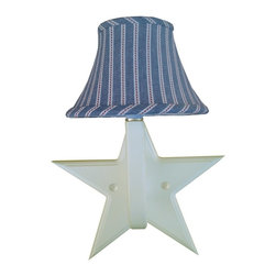 Charn&Co. - Zipper Stripe Star Wall Sconce - Zipper Stripe Star Wall Sconce will add a classic and chic touch to your space