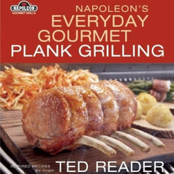 Napoleon - Napoleon Gourmet Plank Grilling Cookbook - This definitive guide to incorporating planks in barbecue cooking demonstrates how grilled food can be cooked to perfection by infusing it with the delicate flavors of the wood it�s cooked on. From amazing appetizers and decadent desserts to succulent side Detailed directions provide readers with tips and tricks for creating a picture-perfect meal|Unique recipes from one of the most flamboyant chefs in North America |Lavishly illustrated Includes hors d'oeuvres, main courses, and desserts|For both gas and charcoal grills   This item cannot ship to APO/FPO addresses.  Please accept our apologies.